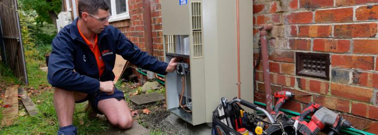 Hot Water Service in Alphington