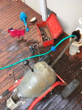 blocked drain plumber Melbourne