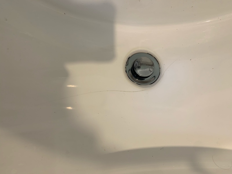 Bathroom plumbing repair