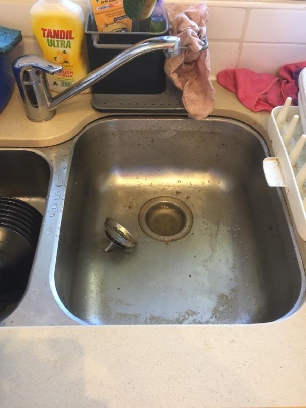 Caulfield north blocked sink