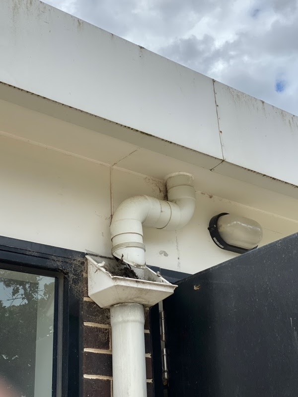 gallant plumbing flush out gutter cleaning