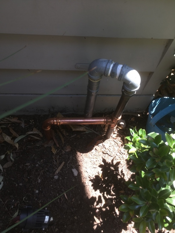 Hot Water System Installation, Fairfield, gas line connection