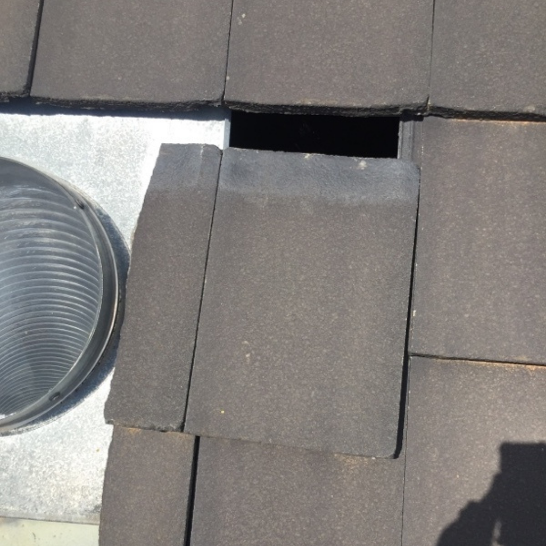 Plumber Melbourne, Ivanhoe, Roof Tiles out of Place