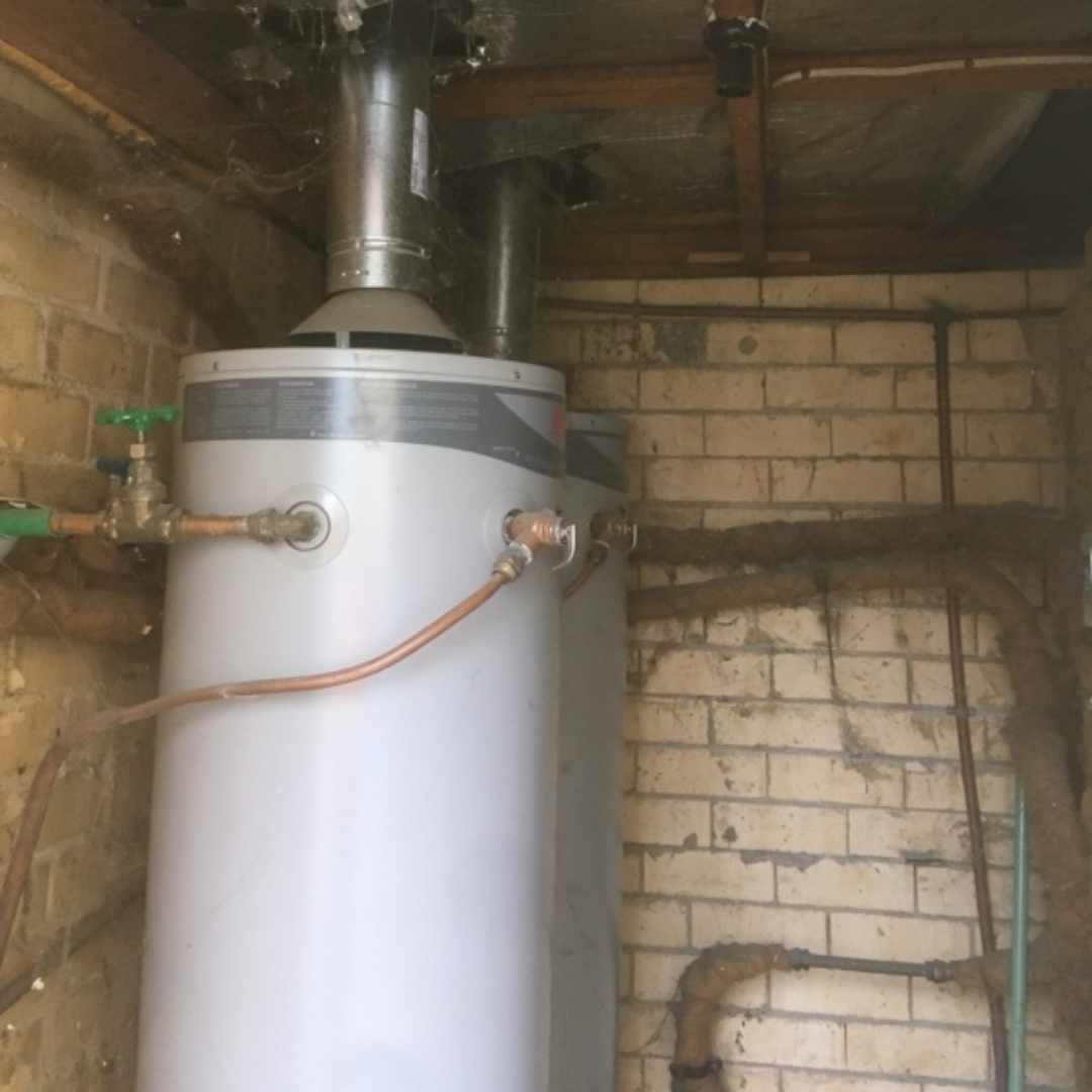 Residential Plumbing, Brighton, Hot Water Service Room